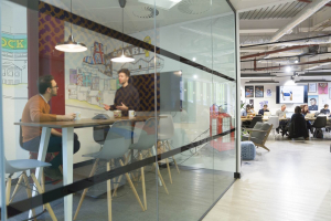 Meeting room and hot desking